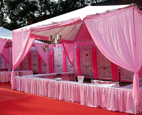 roof wedding tent