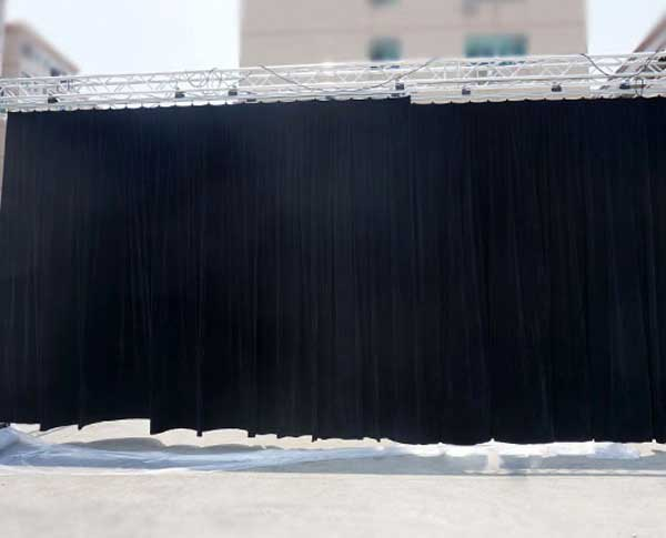 stage curtain & track