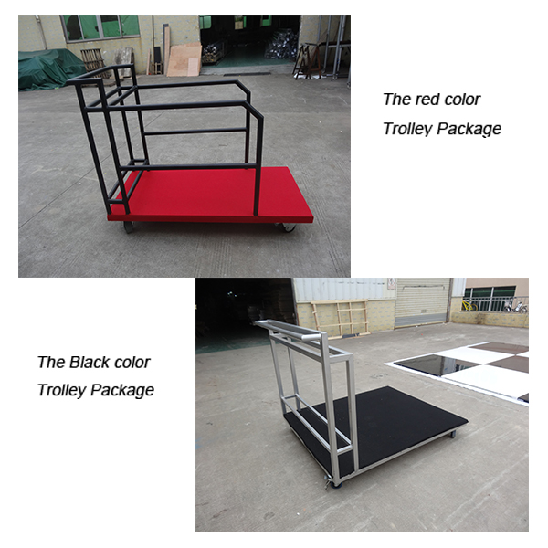 package of dance floor
