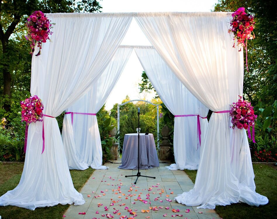 Pipe and drapes for Outdoor/indoor event from RK