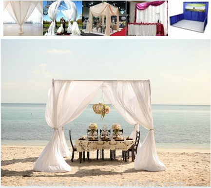 wedding square tent
