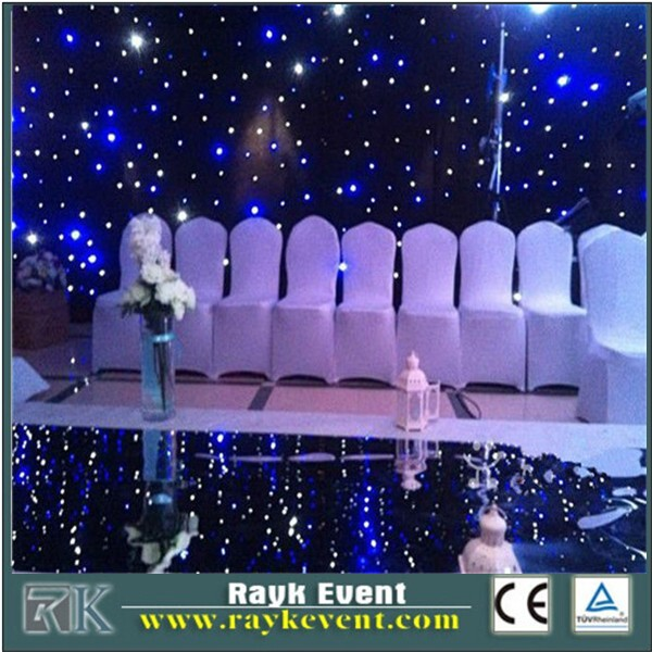 led light curtain backdrop