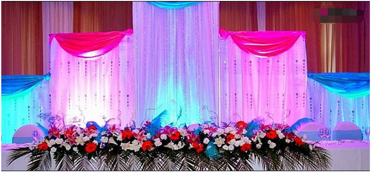 pipe and drape backdrop kits