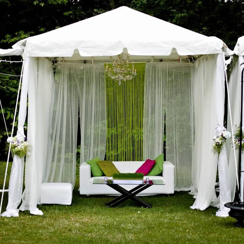 outdoor wedding square roof tents