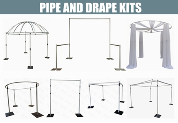 wedding pipe and drape kits