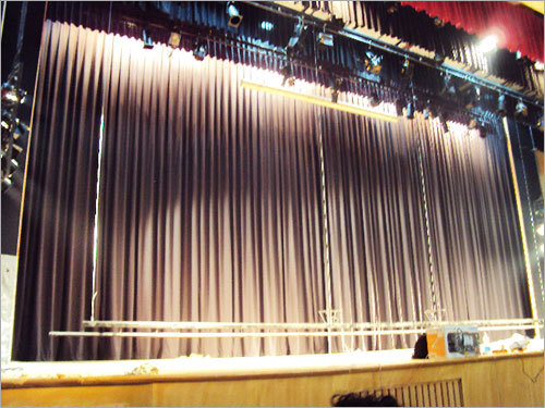motorize stage curtain