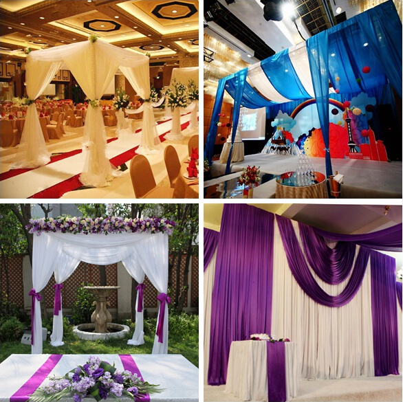 wedding tent pipe and drape kits