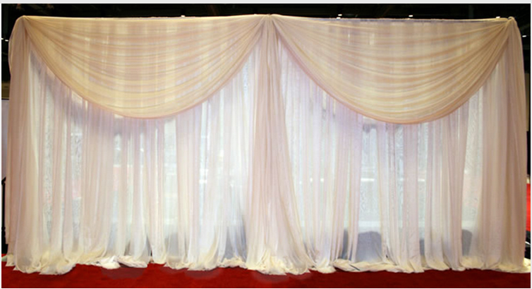 wedding pipe and drape backdrop kits