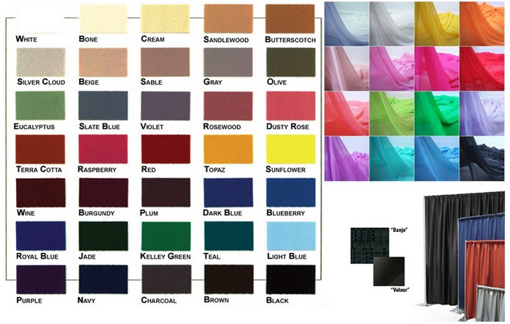 color of drapery