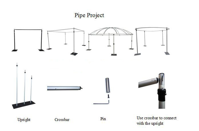 pipe and drape system wholeslae