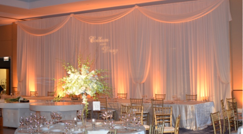 pipe and drape backdrop kits for events