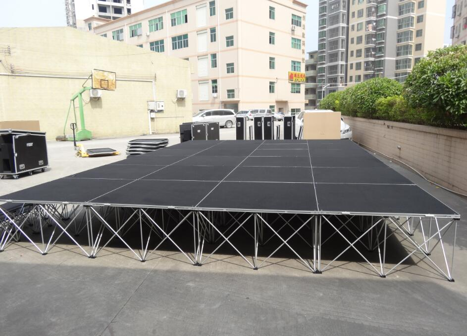 event portable smart stage system
