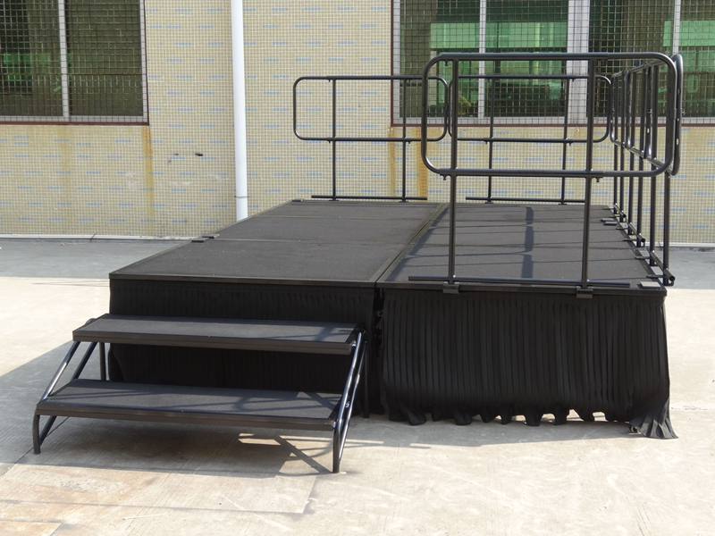 Folding Portable Stage 4ftx8ft