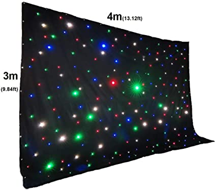 LED Star Cloth 4m x 3m